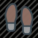 foot, footprints, footsteps, shoes