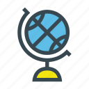 earth, geography, globe, map, navigation, planet, world icon