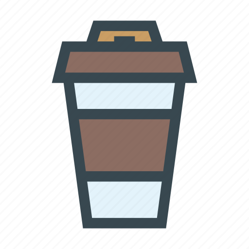coffee, cup, drink, paper, papercup icon