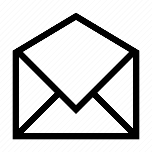 correspondence, envelope, letter, mail, open, paper icon