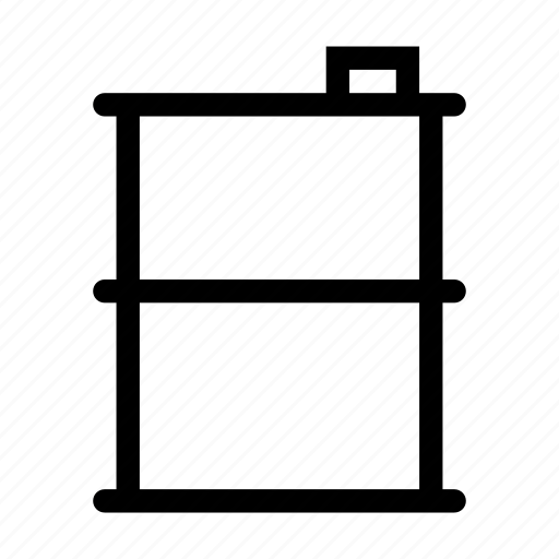 container, drum, industry, metal, steel, storage, tank icon