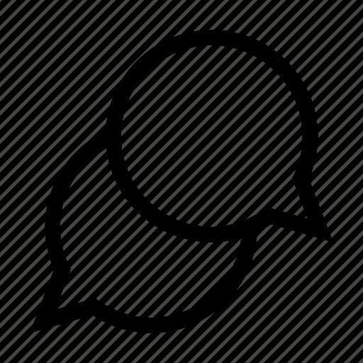 bubbles, chat, conversation, talk, talking icon