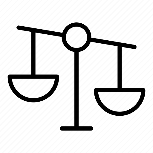 balance, judge, justice, justify, law icon