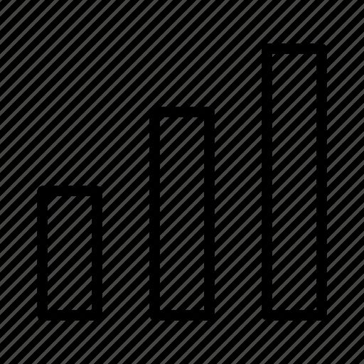 bar, bar chart, chart, chart bar icon