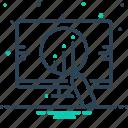 analysis, competitive, competitive analysis, corporation icon