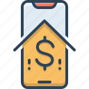 banking, mobile, mobile banking, mobile payment, online, payment icon