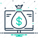 accounting, business, finance, financial, investments, money icon