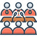 business, business conference, conference, convention, seminar icon