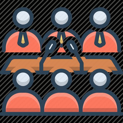 business, business conference, conference, convention, seminar icon