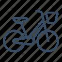 bicycle, bike, city, city transport, e bike, rent, sharing icon