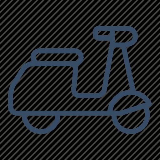 city, city transport, motorcycle, scooter, transportation, vespa icon