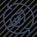 computer, eco, environment, network, service, smart environment, technology icon