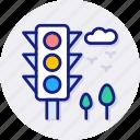 traffic, light, navigation, semaphore, stoplight, transport, sign