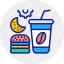 fast, food, burger, drink, take, away, takeaway