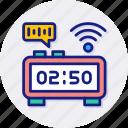 smart, timer, digital, watch, time, machine, technology