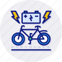 bike, charging, station, power, electric, plug, bicycle