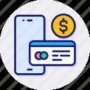 mobile, payment, bank, money, online, smartphone