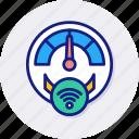 smart, meter, gauge, measure, speedometer, temperature