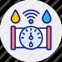 water, meter, counter, measurement, plumbing, gauge