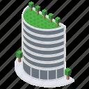 architecture, high rise building, multistory building, skyscraper, superstructure icon