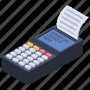cash desk, cash drawer, cash register, pos, receipt icon