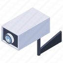 cctv camera, closed circuit television, monitoring camera, security camera, surveillance eye icon