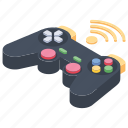 controller, gamepad, gaming device, input device, joystick icon