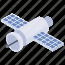 antenna, artificial satellite, satellite, satellite broadcasting, space antenna icon
