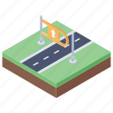 highway, interstate, roadway, route, toll road icon