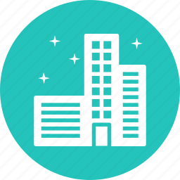 building, city, clean, neat, safe, smart icon