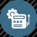 automatic, city, device, energy, motor, setting, smart icon