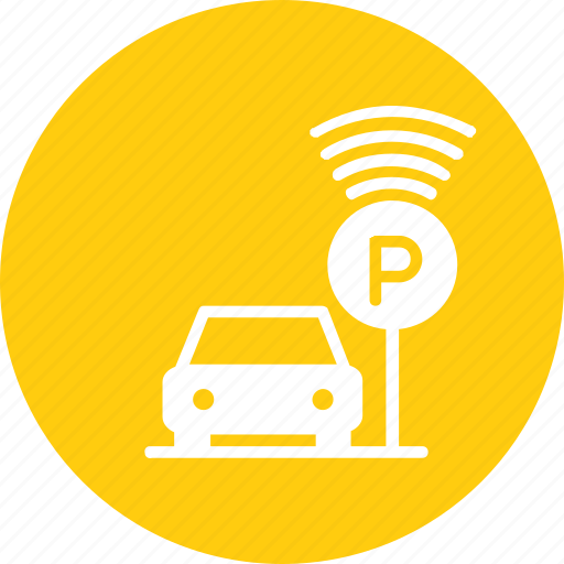 automatic, car, park, parking, smart, vehicle icon