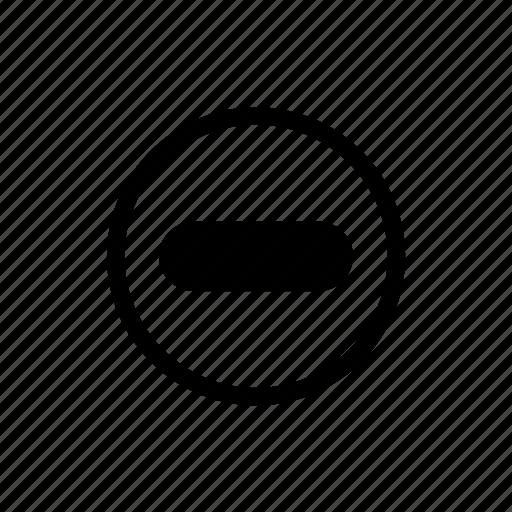 dead end, delete, remove, stop icon