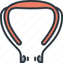 device, earphones, gadget, music, smart, technology, wireless icon