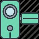 camcorder, camera, device, gadget, handheld, smart, technology