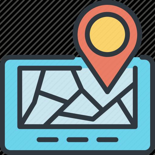 device, gadget, navigator, pocket, smart, target, technology icon