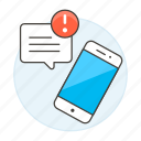 connectivity, issue, message, mobile, notification, phone, smartphone, text, texting