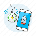 battery, charge, charging, inductive, low, mobile, phone, smartphone, usage, wireless