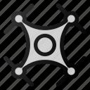 drone, quad, copter icon