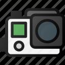 gopro, camera, recorder, video