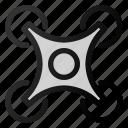 quad, copter, dron icon