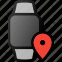 smartwatch, geolocation, smart, watch