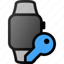 smartwatch, key, smart, watch
