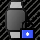 smartwatch, lock, smart, watch