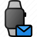 smartwatch, mail, alt, smart, watch