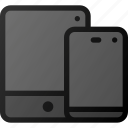 tablet, mobile, responsive, smart, device