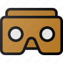vr, cardboard, augmented, reality, virtual