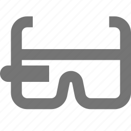 glasses, google glass, smart glasses icon