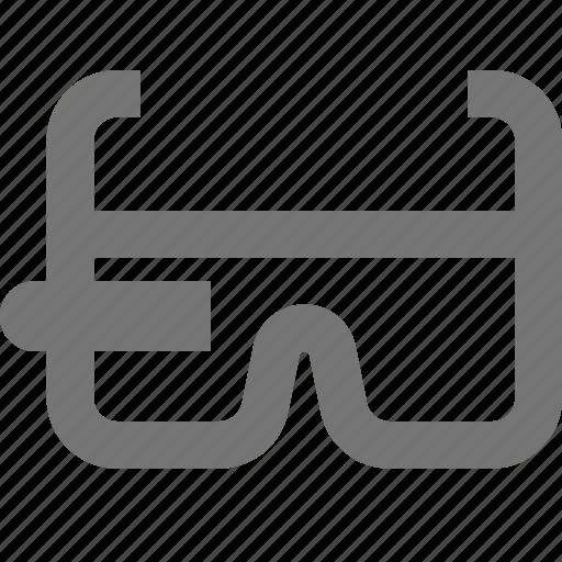 device, gadget, glasses, google, smart, smart glasses, vr icon