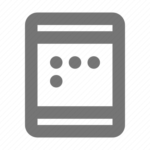 device, gadget, password, smart, tablet, text, touch icon